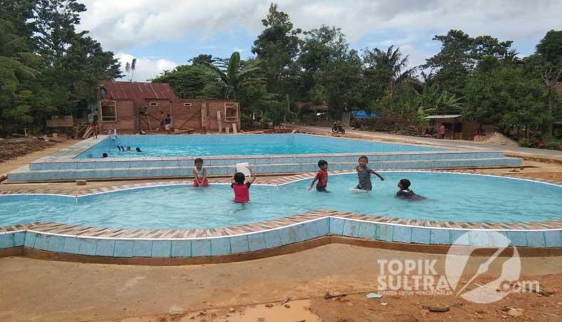 Desa Di Kabupaten Kolaka Ini Miliki Kolam Renang Mewah Topiksultra Com